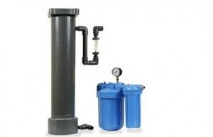 Адиабатическая (испарительная) панель, блок декальцинирования воды