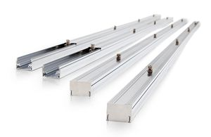 Adiabatic (evaporative) panel components, water-spraying system
